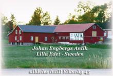 Johan Engbergs Antiklada i Lilla Edet intill E45 har �ppet p� l�rdatar & s�ndagar 12-17 - �ret om! VARMT V�LKOMMEN.